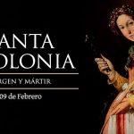Santa Apolonia Patrona de los dentistas